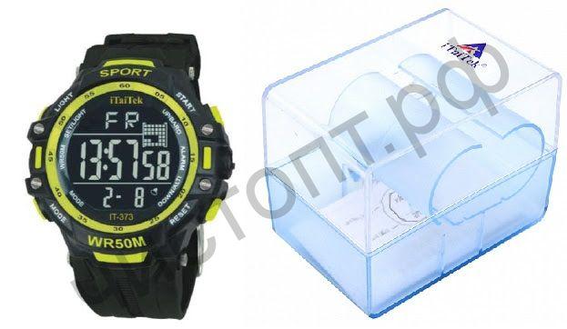 Часы наручные iTaiTek IT-373 (ЖЕЛТЫЙ)