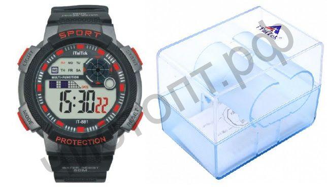 Часы наручные iTaiTek IT-881 (КРАСНЫЙ)