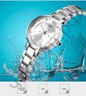 Часы наручные Skmei 1411 серебро Высокое качество Водонепроницаемые !