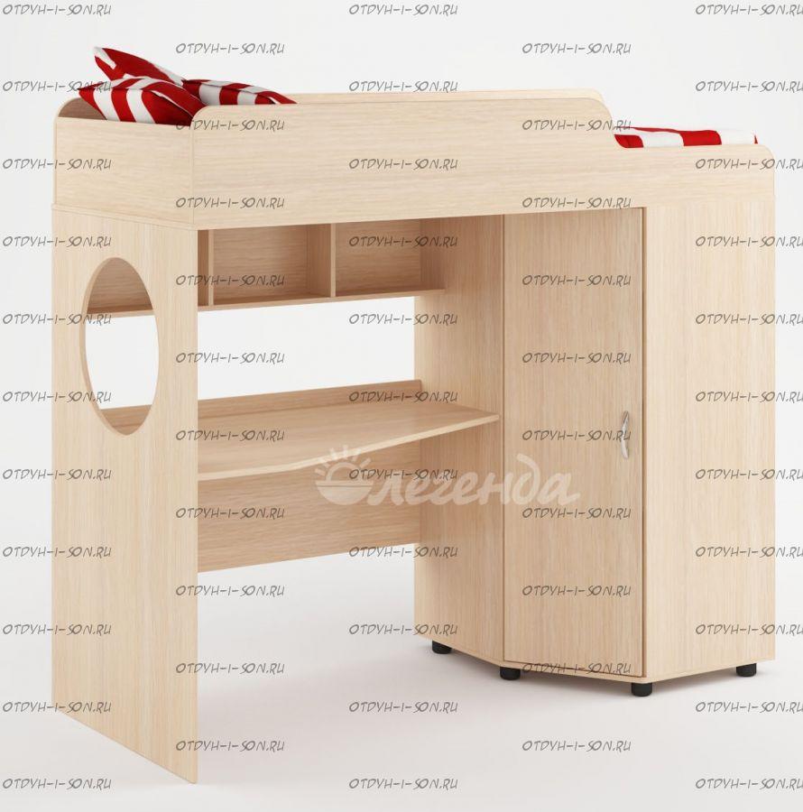 Кровать-чердак Легенда-4.0 (80Х190)