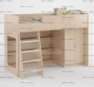 Кровать-чердак Легенда-36 (70Х175)