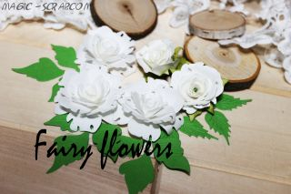 "Цветы ручной работы ""Белый сад"""