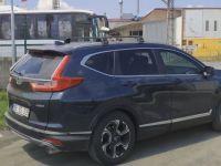 Багажник на Honda CR-V 2012-17 / 2019-..., Turtle Air 3, аэродинамические дуги (черный цвет)