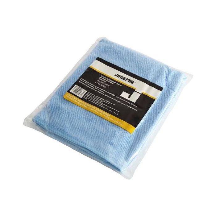 Jeta PRO Microfiber cleaning Полировальные салфетки многоразовые из микроволокна, 32см. x 36см., цвет: синий, в индивидуальной упаковке