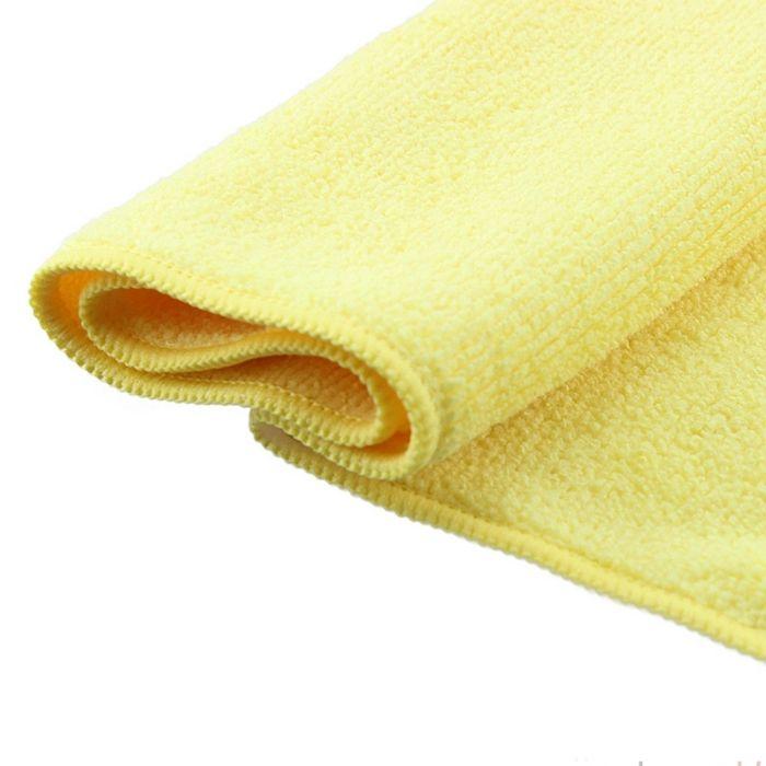 Jeta Microfiber Yellow Полировальные салфетки многоразовые из микрофибровой ткани, 40см. х 40см., цвет: желтый