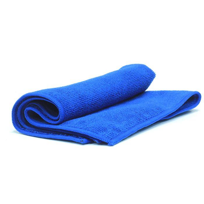 Jeta Microfiber Blue Полировальные салфетки многоразовые из микрофибровой ткани, 40см. х 40см., цвет: темно-синий