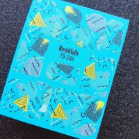 Слайдер-дизайн TB - 589  Dream Nails (водные наклейки)