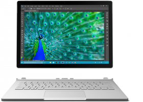 "Ноутбук Microsoft Surface Book (Core i5 6200U 2300 MHz/13.5""/3000x2000/8.0Gb/128Gb SSD/DVD нет/Intel HD Graphics 520/Wi-Fi/Bluetooth/Win 10 Pro)"