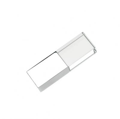 4GB USB-флэш накопитель Apexto UG-006 стеклянный, синий LED