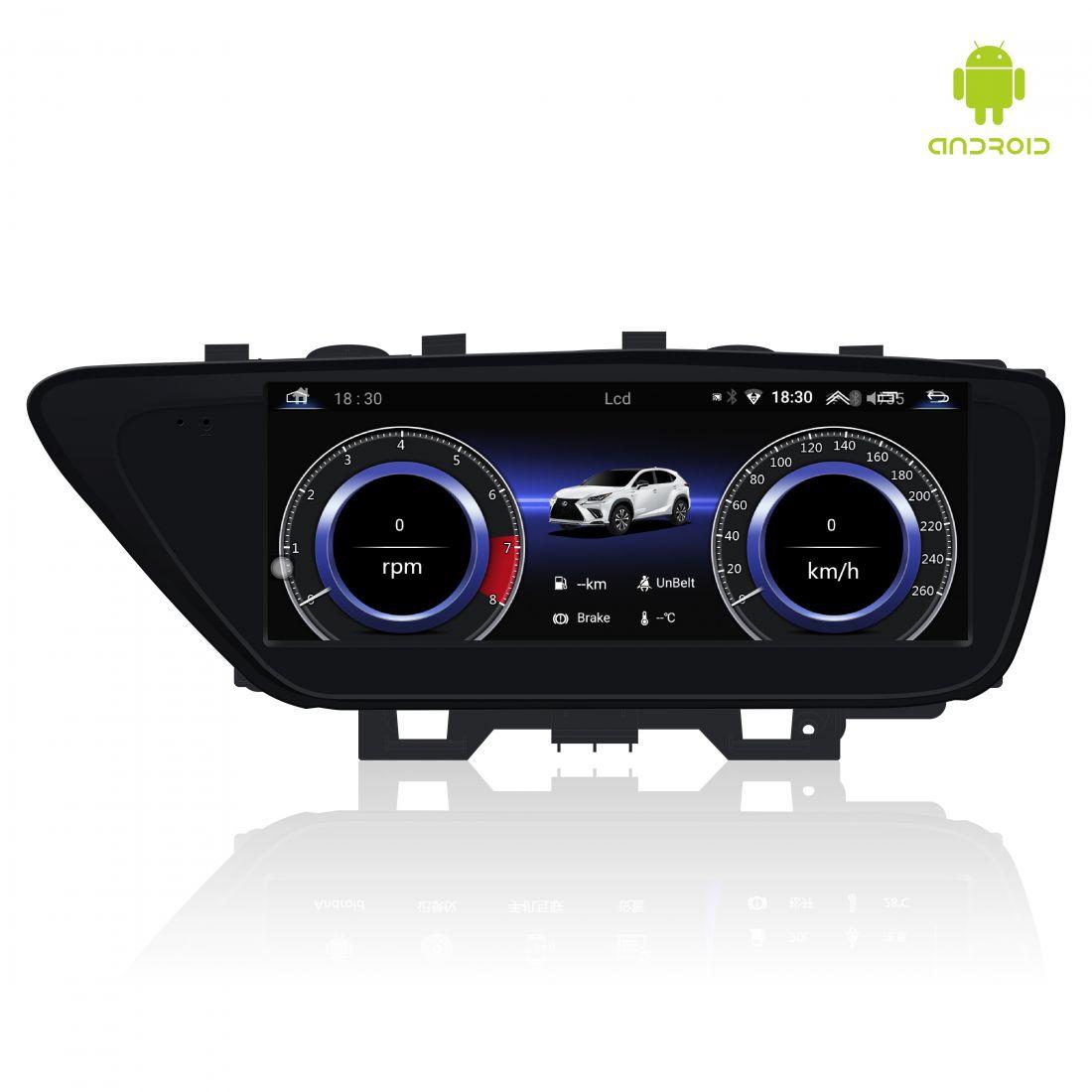 """Замена монитора 8 дюймов на 10,25"""" в Lexus ES 2012-2018г.в."""