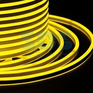 Гибкий Неон 2-х сторон. 7*12мм, желт. 120LED/9W/м (бухта 100м. цена за м) IP65 131-061 Neon Night