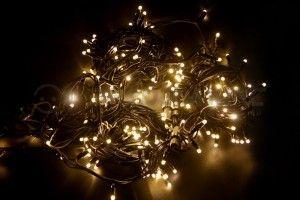 Гирлянда  Дюраплей LED NICHA  мерц. 20м, черн. кауч. , 200LED, Тепло-белая 315-166 Neon Night
