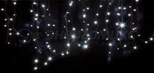 Гирлянда  Дюраплей LED NICHA 20м 200LED  черн. кауч. Белая 315-155 Neon Night