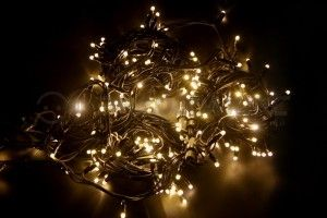 Гирлянда  Дюраплей LED NICHA 20м 200LED  черн. кауч. Тепло-белый 315-156 Neon Night
