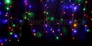 Гирлянда Дюраплей LED 20м, 200LED разноцвет 315-159