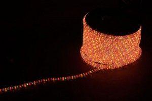 Дюралайт (световая нить) со светодиодами, 3W 50м 230V 72LED/м 11х17мм, синий-красный, LED-F3W 26210
