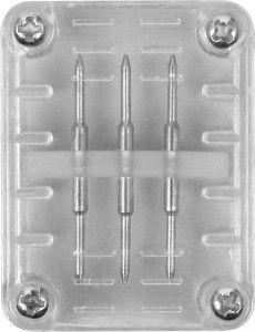 Соединитель 3W для дюралайта LED-F3W со светодиодами, пластик (уп. 50шт, цена за 1шт.) 26104