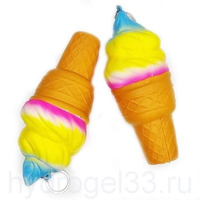 Сквиши радужное мороженое