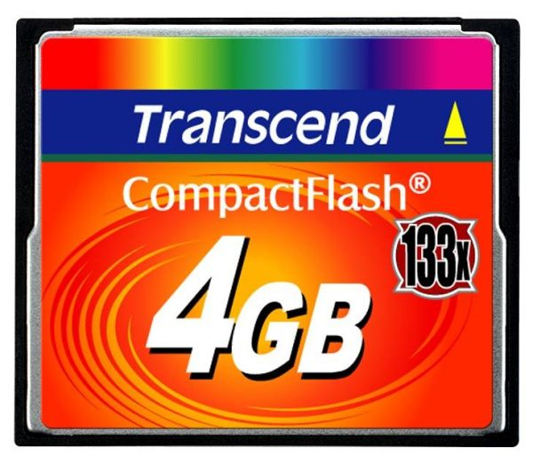 4GB карта памяти CF Transcend Ultra Speed 133X