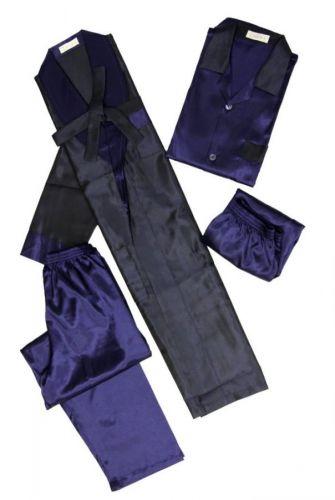 Мужской шелковый комплект Very Special Reserve синий