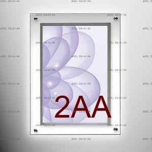 Кристалайт односторонний настенный формат 2AA CITY 1200х1800 мм