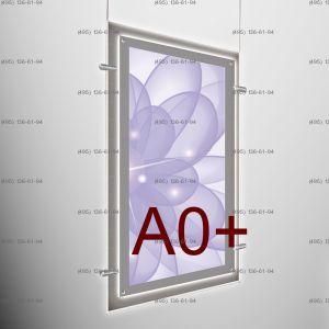 Кристалайт односторонний подвесной формат А0+, 841х1189 мм