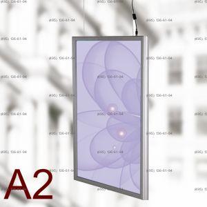 Световая панель Frame LED Framelight Classic (фреймлайт), двусторонняя, формат A2, 420х594 мм