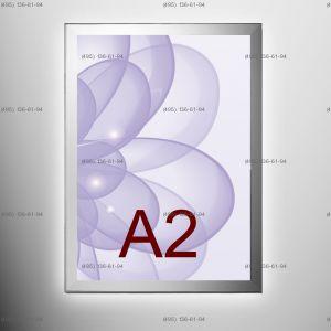 Световая панель MAGNETIC, односторонняя, формат A2, 420х594 мм