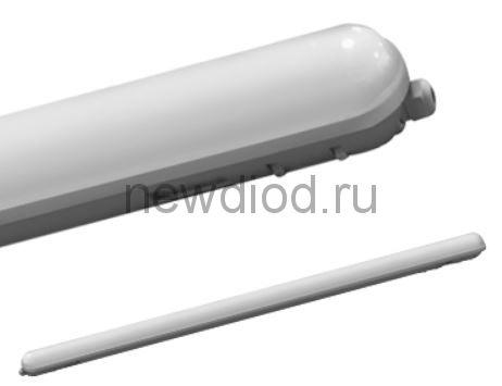 Светильник светодиодный герметичный ССП-159М 36Вт 230В 4000К 2700лм 1200мм матовый IP65 IN HOME