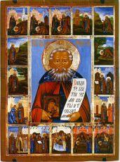 Икона Авраамий Галичский преподобный