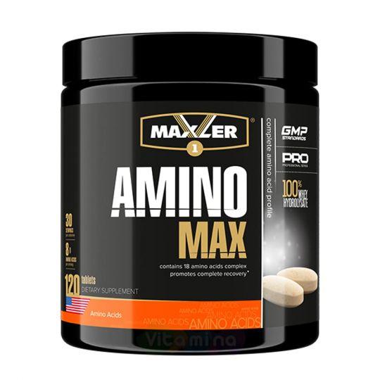 Maxler Аминокислоты Amino Max Hydrolysate, 120 таб
