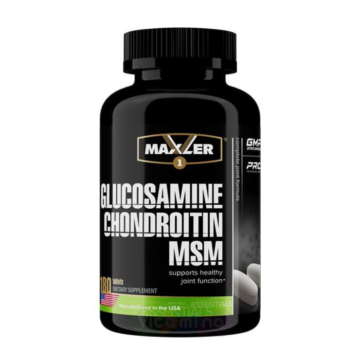 Maxler Glucosamine-Chondroitin-MSM, 180 табл