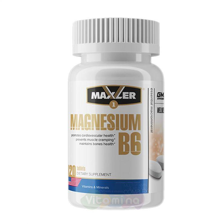 Maxler Магний Б6 Magnesium B6, 120 табл