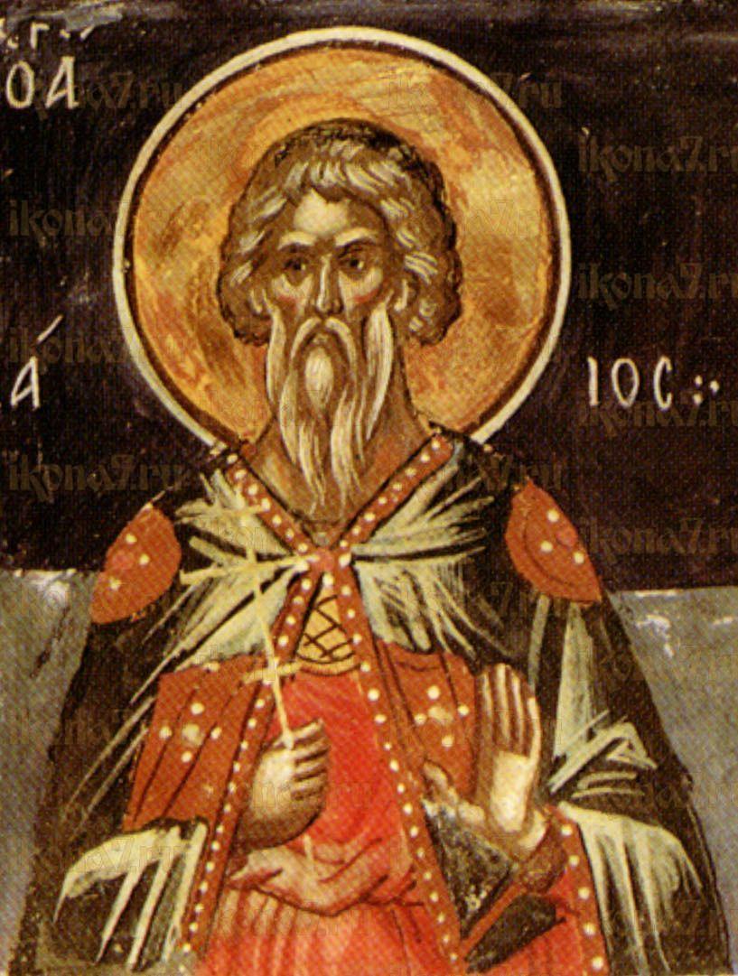 Икона Аглаий Севастийский мученик