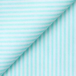 Ткань Мятная полоска 50х40см