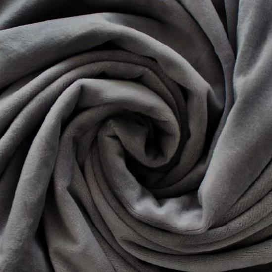 Велюр Тёмно-серый 50*40
