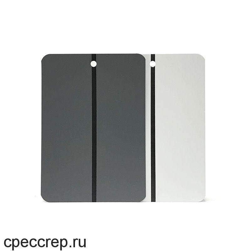 Металлические тест-панели 10,5 х 15 см, светло-серые