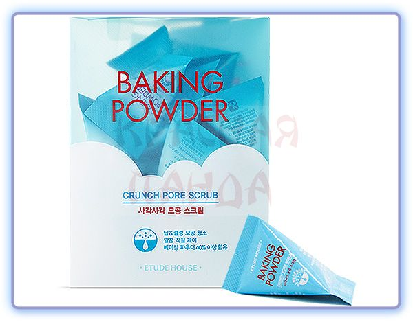Скраб для лица Etude House Baking Powder Crunch Pore Scrub в пирамидках