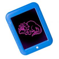 Волшебный планшет для рисования с подсветкой Magic Sketchpad, синий