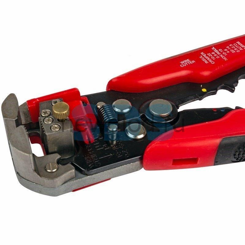Инструмент для зачистки кабеля и обжима наконечников PROconnect HT-766 (HY-371)