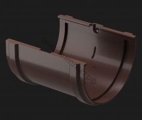 Docke Соединитель желобов с резиновым  уплотнением  (шоколад,гранат ,графит, каштан)