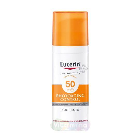 Eucerin Photoaging control Флюид солнцезащитный для лица, 50 мл