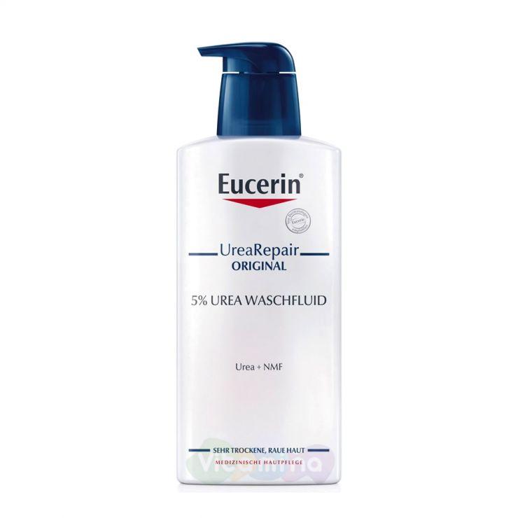 Eucerin Urea repair original Очищающий флюид, 400 мл