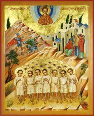 Икона Вифлеемские младенцы мученики