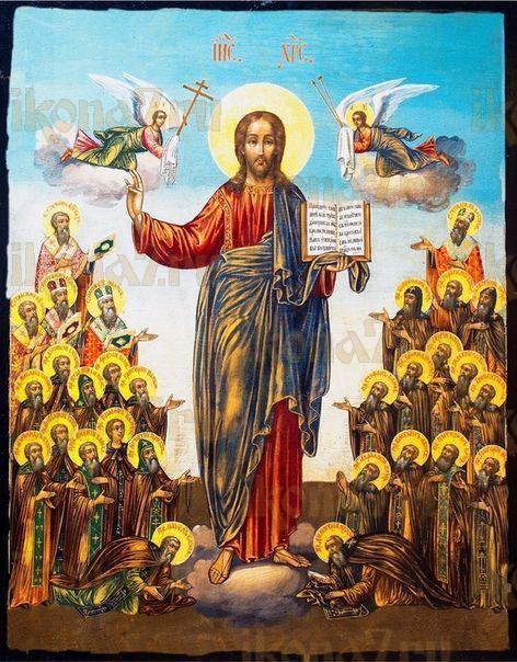 Икона Собор Вологодских святых
