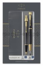 Набор Parker IM Ручка перьевая + Ручка шариковая Black GT Core FK221 2093216