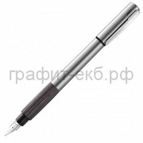 Ручка перьевая Lamy Accent сталь/дерево F 096