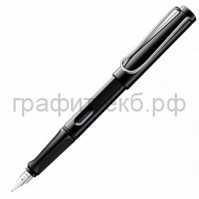 Ручка перьевая Lamy Safari черный F 019