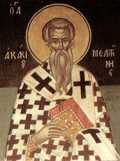 Икона Акакий Мелитинский преподобный