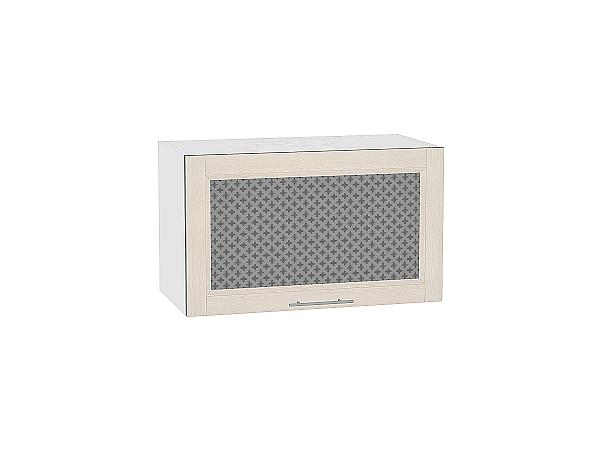 Шкаф верхний Сканди ВГ600 со стеклом Cappuccino Softwood